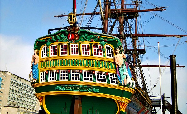 The Amsterdam Ship, Amsterdam