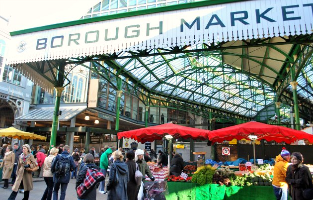 Borough Market London Opening Times Market Days
