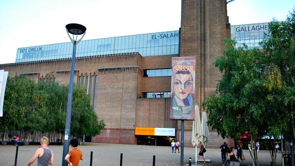 The Tate Modern gallery in London