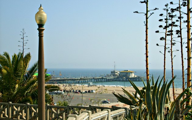 Los Angeles Santa Monica view