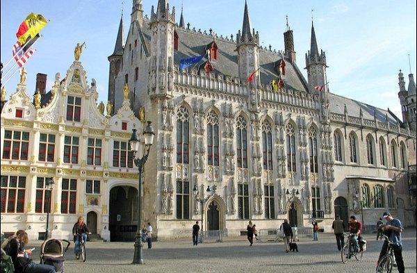 Bruges Old Town Hall Exterior