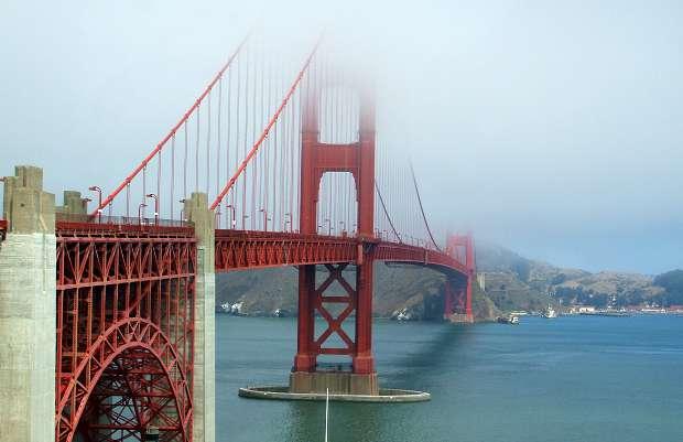 San Francisco Golden Gate Bridge larger