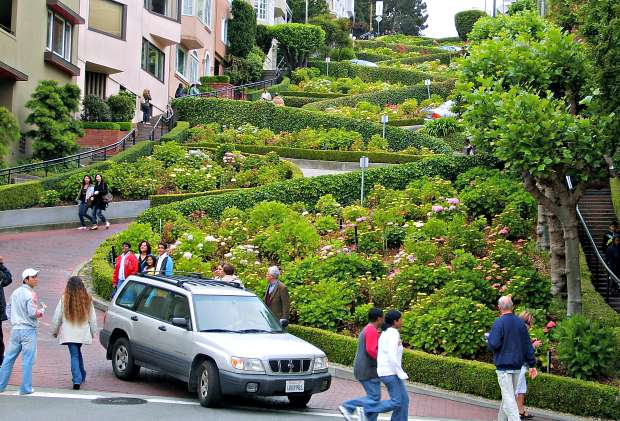 San Francisco Lombard Street clear