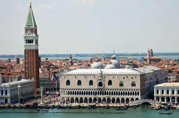 Venice skyline with camponile