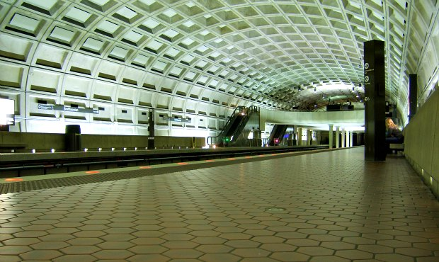 Washington Metro Station larger