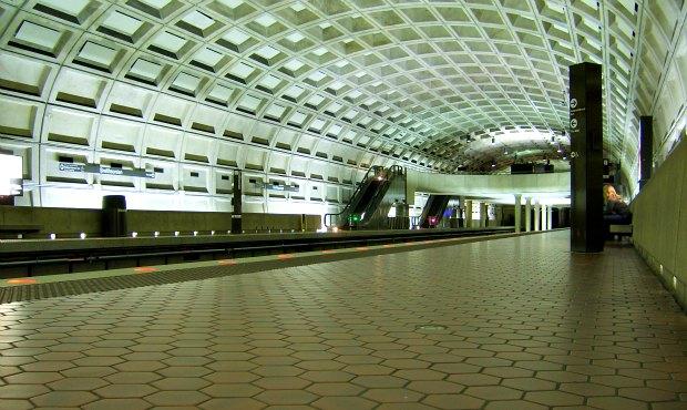 Washington Metro Station larger