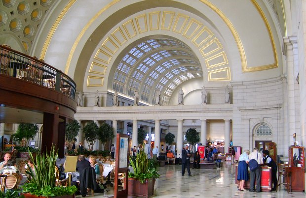 Washington Union Station interior