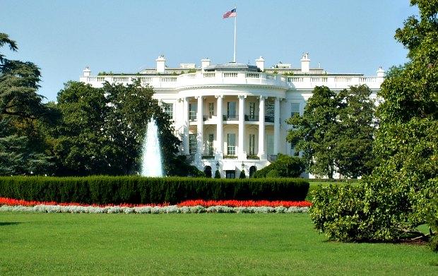 Washington White House larger