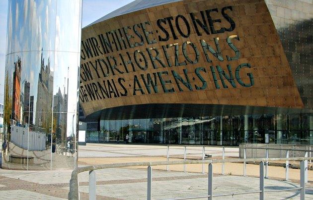 Cardiff Millennium Centre new