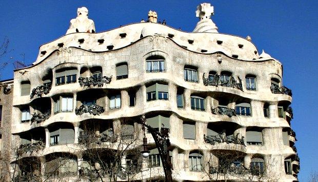 Barcelona Casa Mila exterior