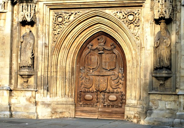 Bath Abbey Front Doors