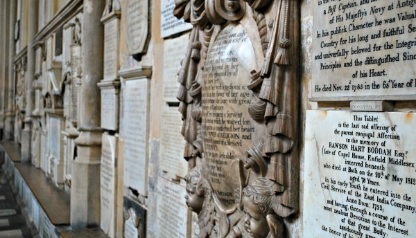 Bath Abbey memorials