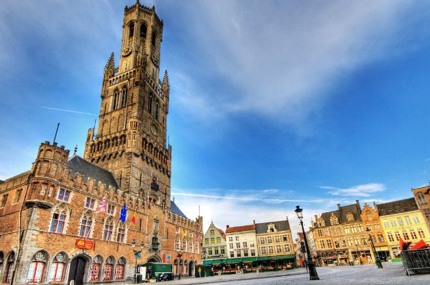 Bruges Belfry wide