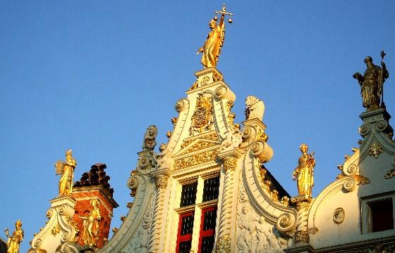 Bruges Burg Square Civil Registry Rooftop (www.free-city-guides.com)