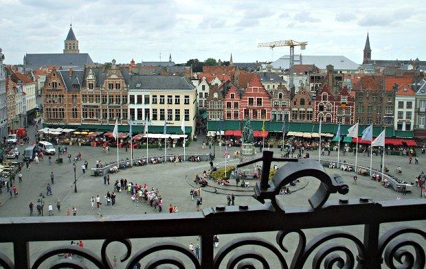 Bruges Markt from Belfry