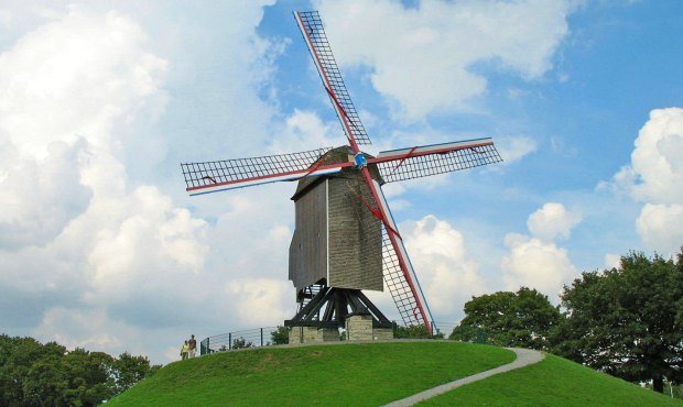 Bruges windmill new