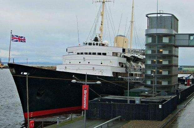 Edinburgh Royal Yacht wide