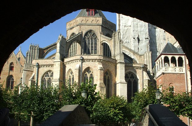 Bruges Church of Our Lady Bridge Frame