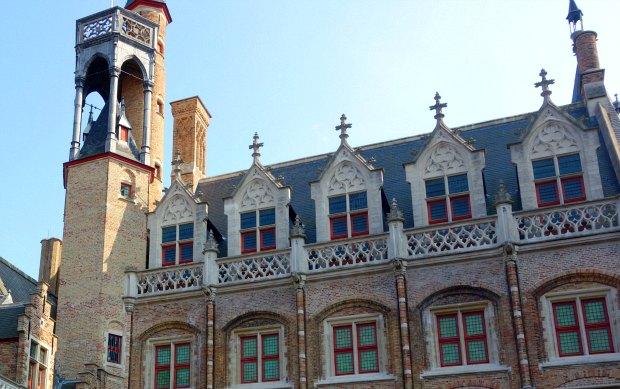 Bruges Gruuthuse windows