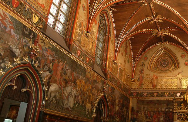 Bruges Stadhuis interior