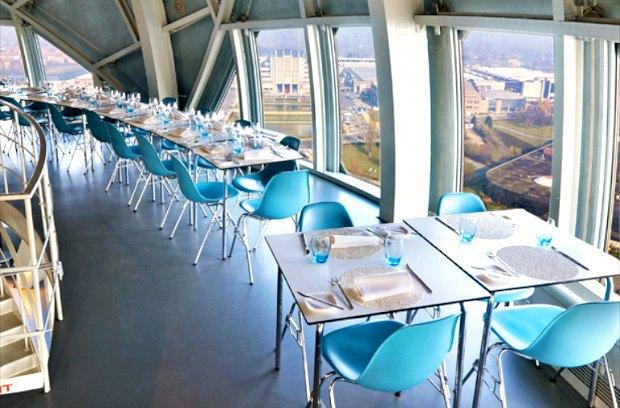 Brussels Atomium Restaurant