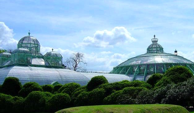 Brussels Royal Greenhouses exterior