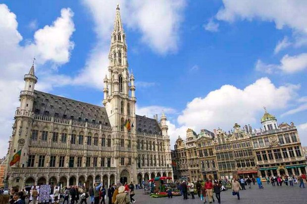 Brussels Town Hall Grand Place