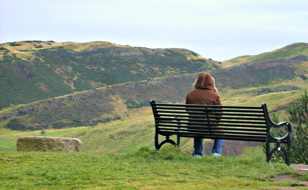 Calton Hill Bench