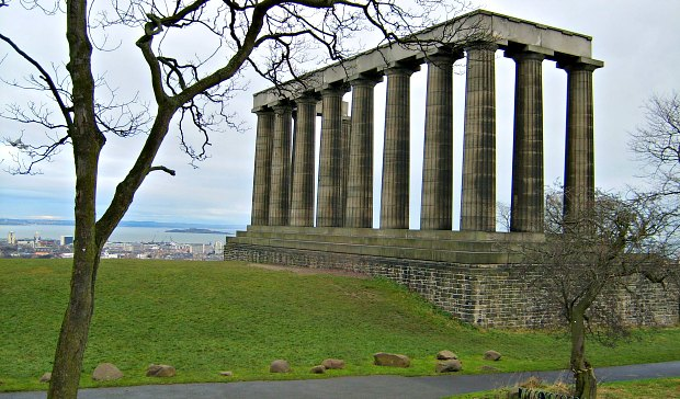 Calton Hill Columns new