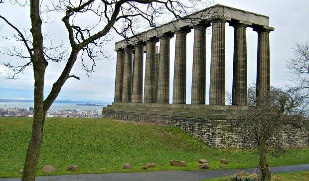 Calton Hill Columns new