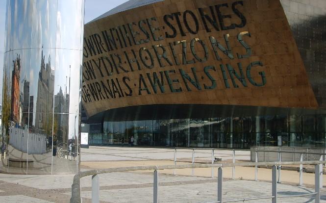 Cardiff Bay Millennium Centre (www.free-city-guides.com)
