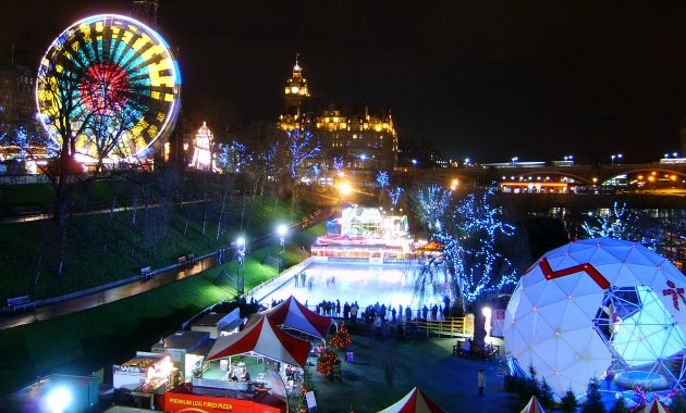 Edinburgh Christmas Ice Rink