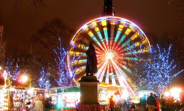 Edinburgh Christmas wheel