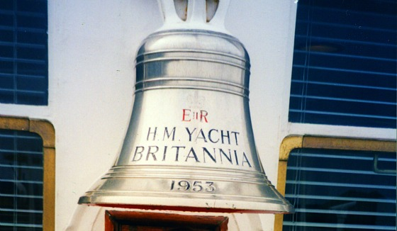 Edinburgh Royal Yacht Bell (www.free-city-guides.com)