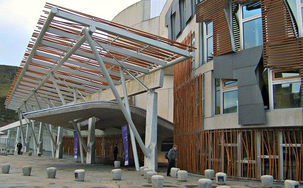 Edinburgh Scottish Parliament Front