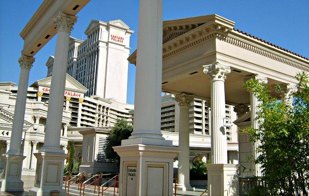Las Vegas Ceasar's Palace Columns
