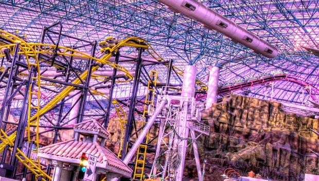 Las Vegas Circus Circus Adventuredome new