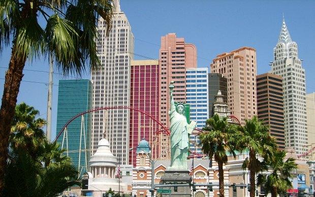 Las Vegas New York New York Skyline