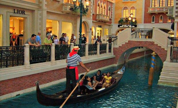Las Vegas Venetian Gondola Grand Canal