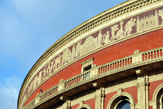 London Albert Hall Roof Curve