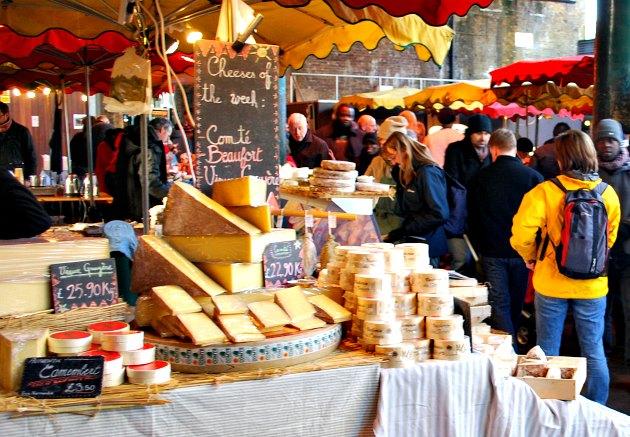 London Borough Market Cheese