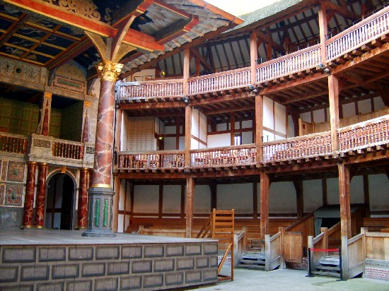 London Globe Theatre inside (www.free-city-guides.com)