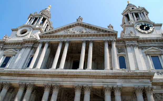 London St Pauls Front towers