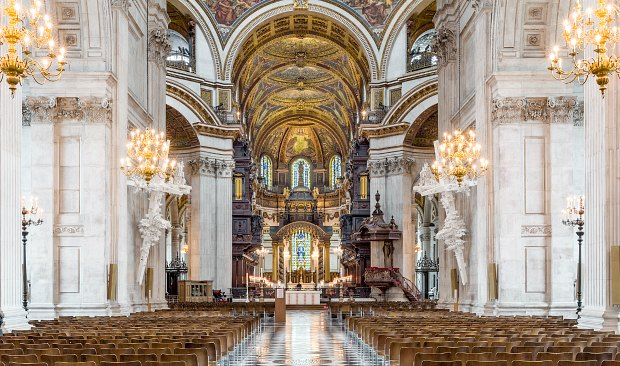 London St Pauls internal