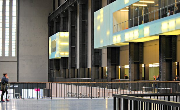 London Tate Modern inside