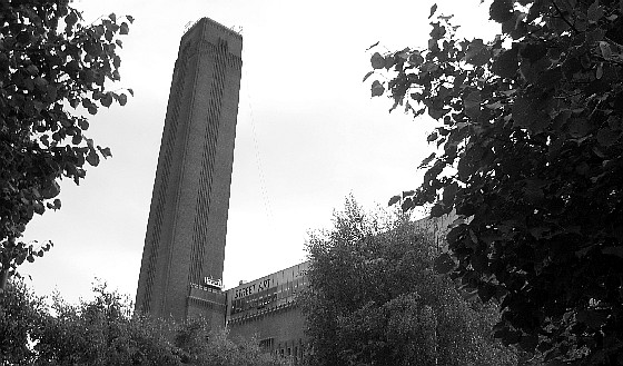 London Tate Modern tower