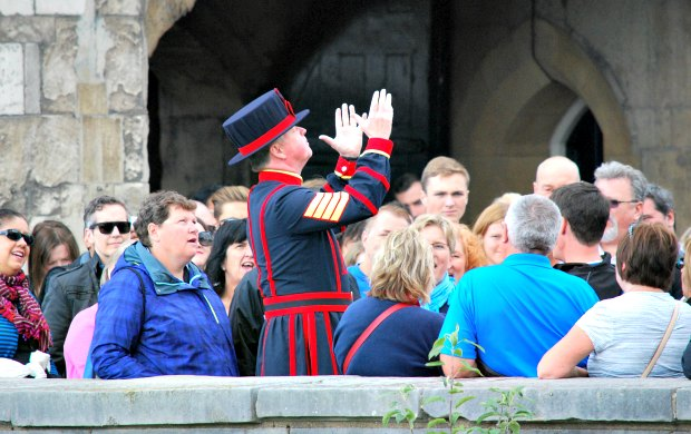 London Tower Of London Beafeater
