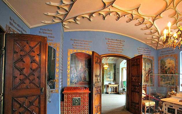 Hohenschwangau Castle Interior