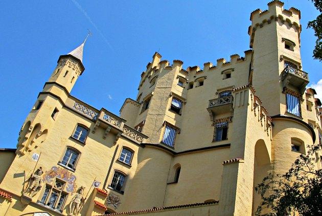 Hohenschwangau Castle Turrets