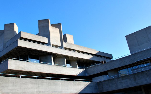 London National Theatre Concrete